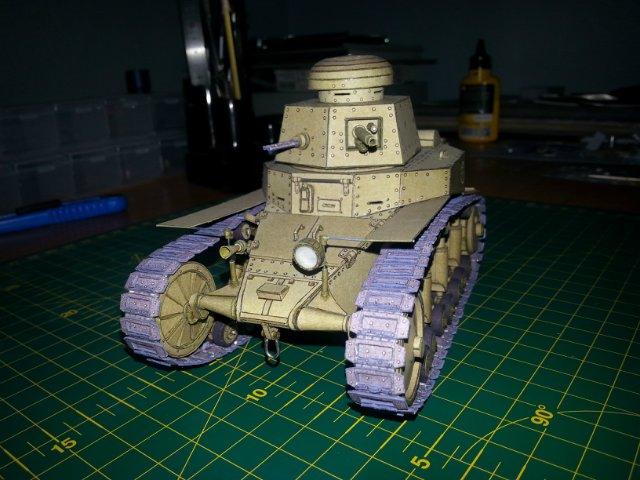 Т-18 (МС-1) Бумажное моделирование №45 40eac2a59918