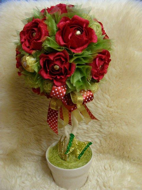 Букеты из конфет - Страница 3 5387163436b5