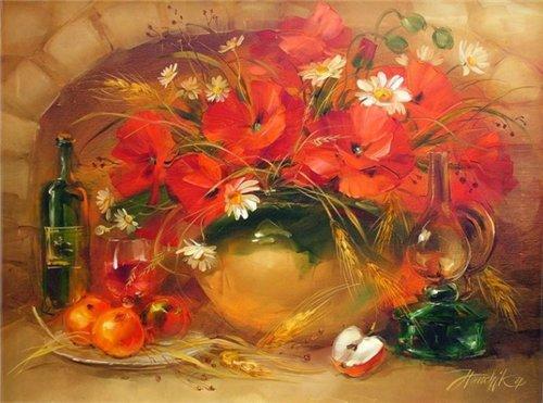 Цветотерапия в живописи... 8eef4e5b9296
