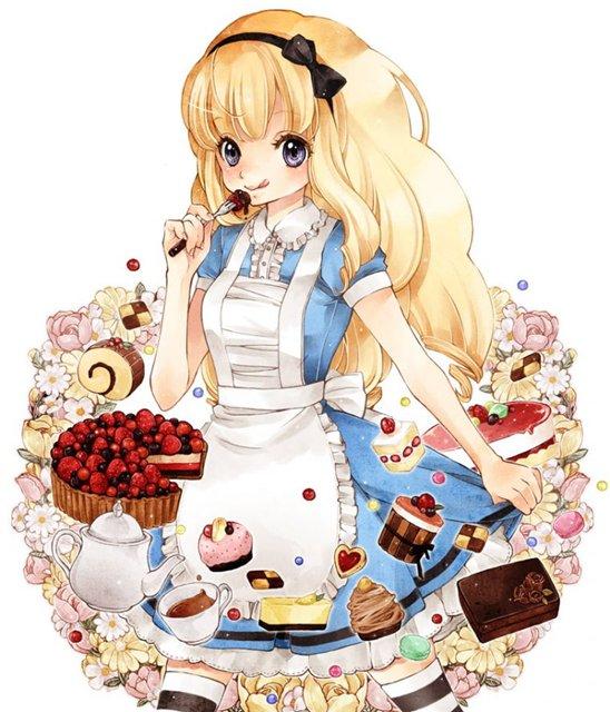 Арты на тему: 'Alice in Wonderland' A29b883d12aa