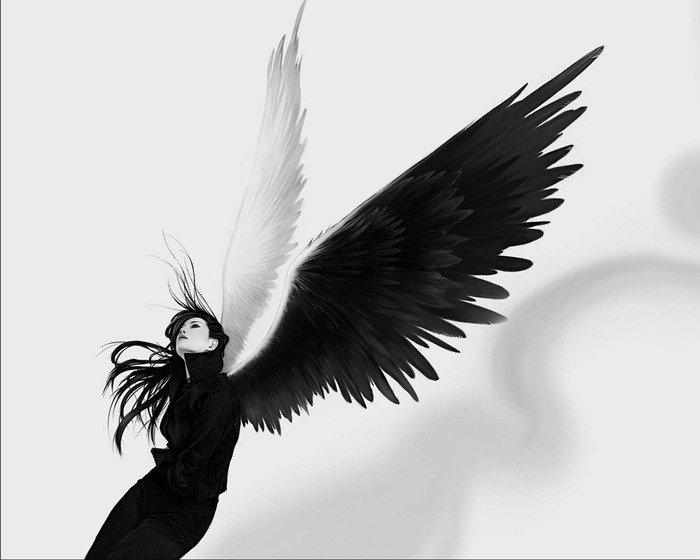 Арты на тему : Ангелы A48444fc3873