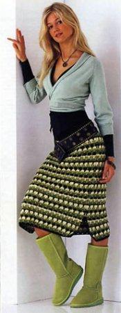 Вязание, вязанные вещи, схемы, узоры. Спицы и крючок - 2 - Страница 7 A0a5950f7491
