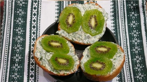 Бутерброды «Изумрудные глаза» 397251b56631