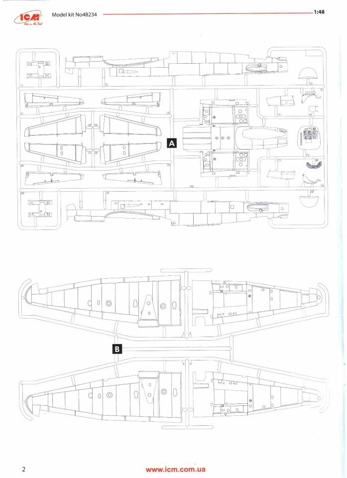 Обзор Ju-88A-14, 1/48, (ICM 48234). 86ef98dbfda5