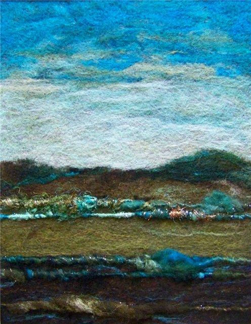 Deebs Fiber Arts создаёт чудесные картины из войлока. 088482f290c8