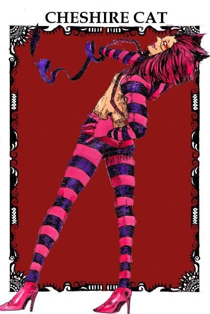 Арты на тему: 'Alice in Wonderland' Ec65e71f7d5d
