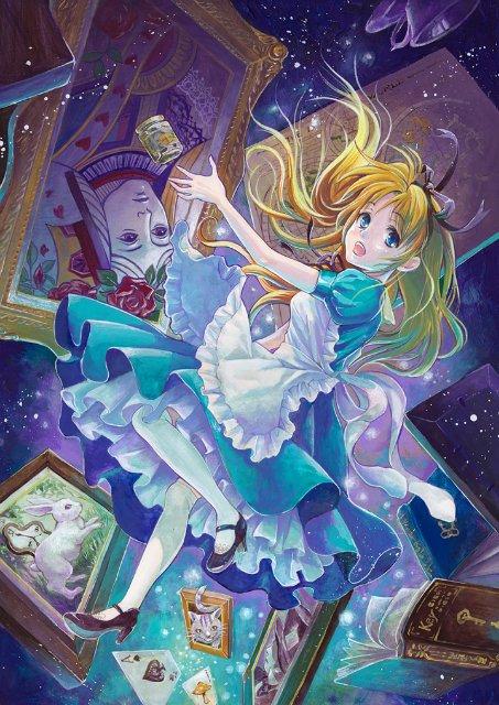 Арты на тему: 'Alice in Wonderland' 4dd30b1a1db7