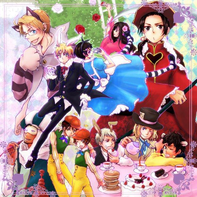 Арты на тему: 'Alice in Wonderland' 2e9b6ee689e5