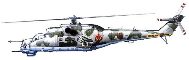 МИ-24В/ВП Звезда, сборка от БТТ шника 0859d1c873da