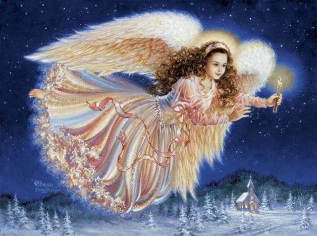 Рождественские ангелы от Dona Gelsinger 283510ed03dd