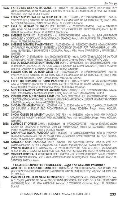 ЧЕМПИОНАТ МИРА И ЧЕМПИОНАТ ФРАНЦИИ 2011 - Страница 2 56d1c7f6e689