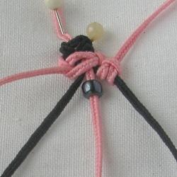 10 плетёных цепочек с бисером в технике макраме 7f1948631c25