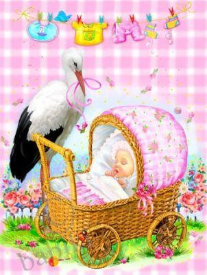 Поздравляем Калинку с рождением дочечки  Bc17628cc3a9