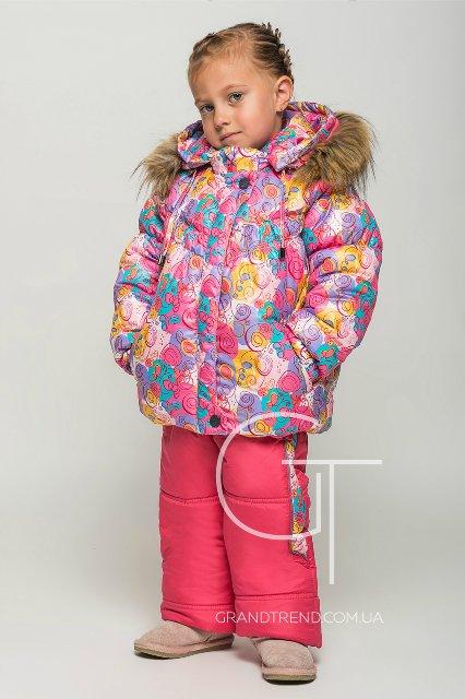 Зимний комбез X-Woyz на тинсулейте для девочки, 110 р. по цене опта C6f16099b8f4