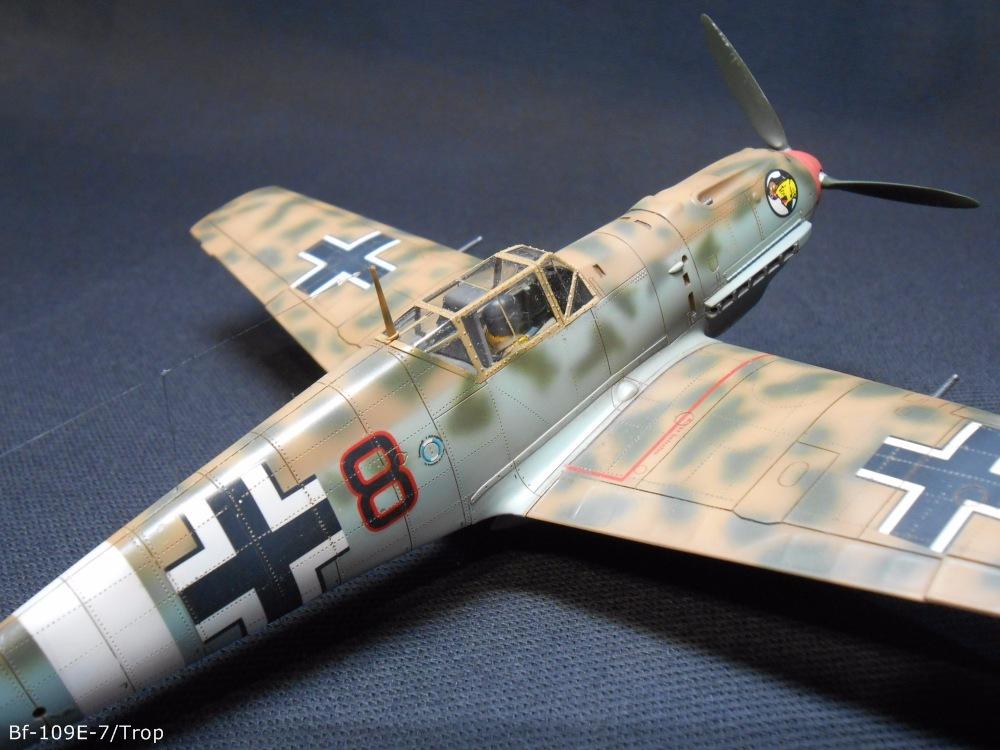 Bf 109 E7/Trop Tamiya 1:48 857793d8376a