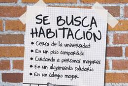 ¿ Eres estudiante y buscas piso en Madrid?  Se-busca