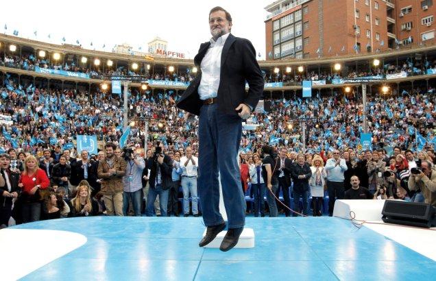 EN BUSCA DE TU IDEOLOGÍA PERDIDA Rajoy-botando