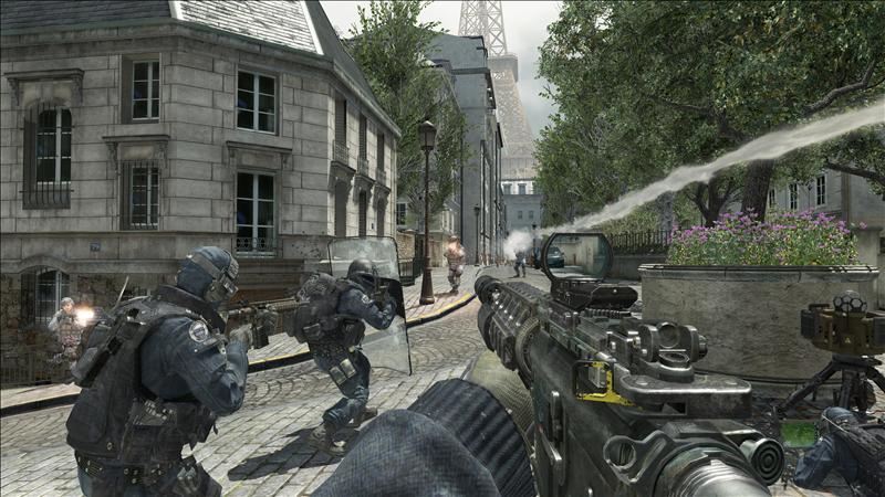 Call of Duty: Modern Warfare 3 bate recorde da indústria do entretenimento 20111003-4102657w