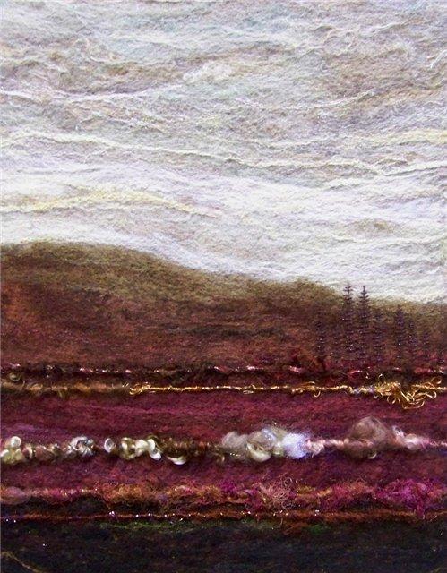 Deebs Fiber Arts создаёт чудесные картины из войлока. Cd8994d04851