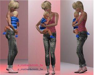 Детские позы, позы с детьми - Страница 2 750f37cc3115