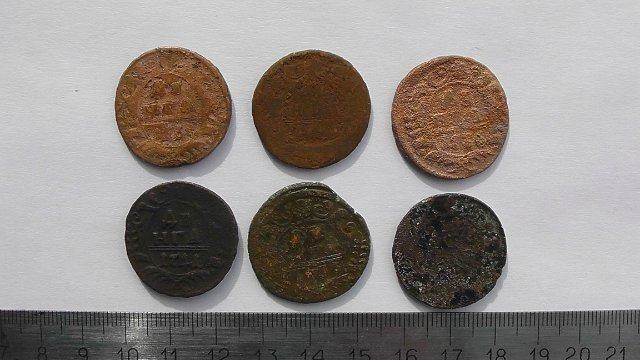 Экспонаты денежных единиц музея Большеорловской ООШ 340aacf6221b