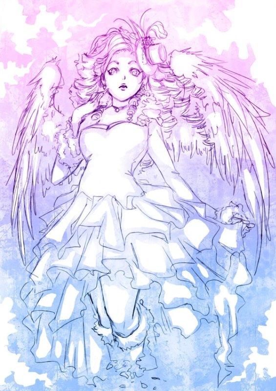 Арты на тему : Ангелы 33240f5e750c