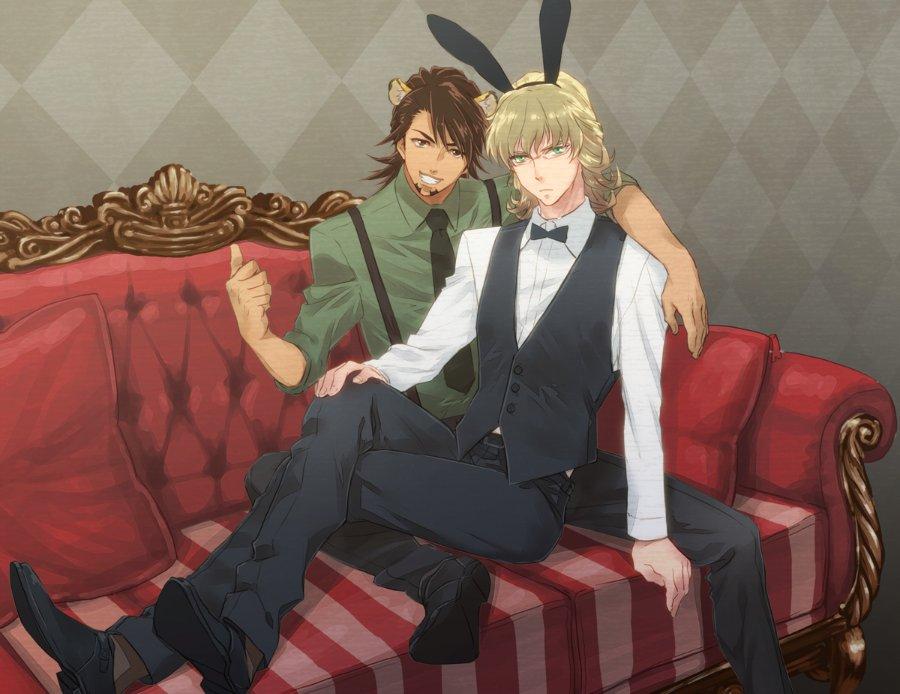 Tiger & Bunny (сенен ай) 966ef2a8dc08