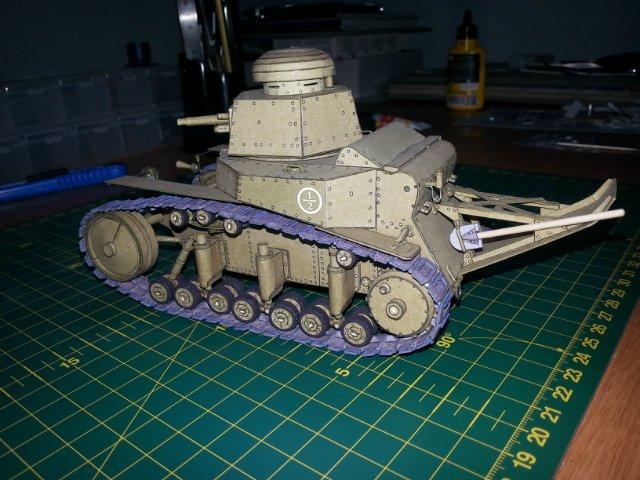 Т-18 (МС-1) Бумажное моделирование №45 C17bc9d8fddf