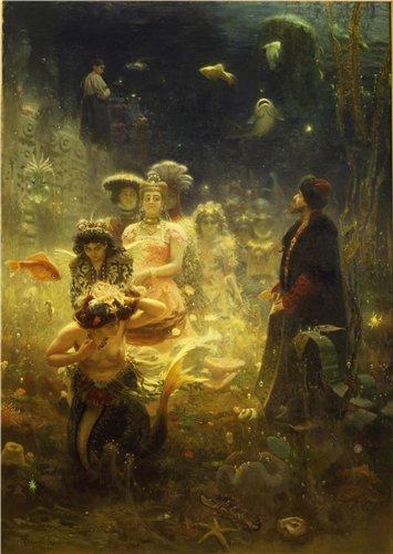 Сказочно-былинный (Мифологический) жанр в живописи 6f5cbcc2d610