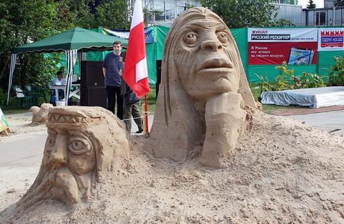 Лепим из песка 21a7c735d609