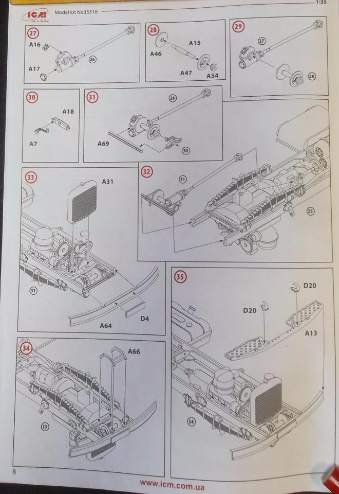 Обзор ЗиЛ-131 Аварийная служба / КУНГ, 1/35 (ICM 35518).  2c4a221ead11