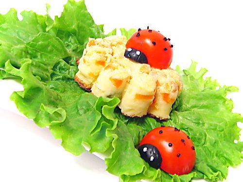 Идеи украшения салатов 9dccf8c5d22d