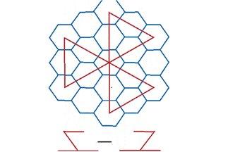 Числа магического шестиугольника. C2ed9936e1e9