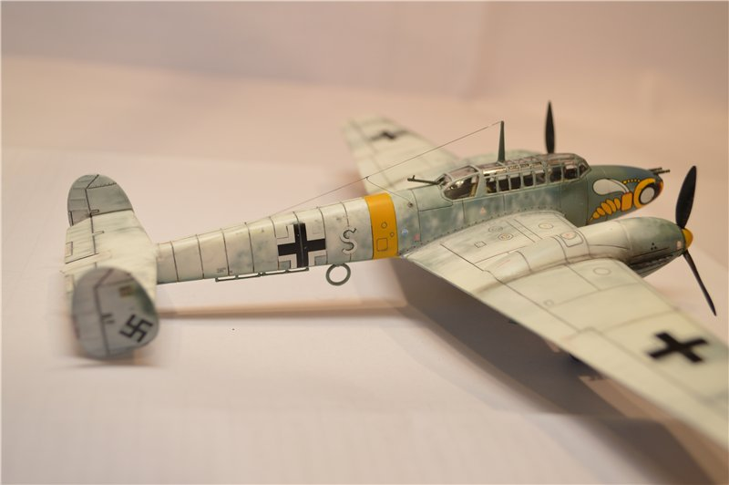 Bf-110 C-4/B (Airfix)  1/72 6a2159fc497c