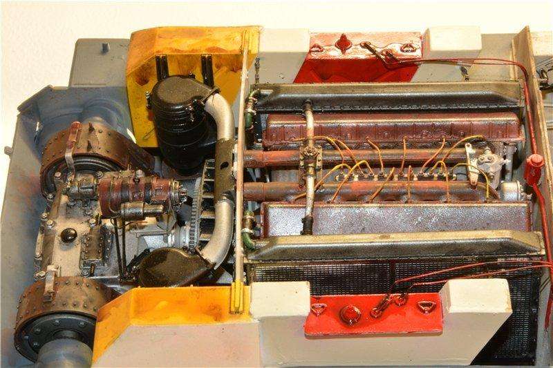Т-34/85 model 1944г. Factory №. 174 маштаб 1/16 Trumpeter 62d3058ef990