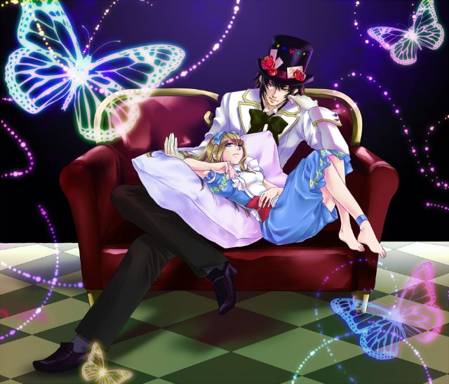Арты на тему: 'Alice in Wonderland' Eb1ccfc900f0