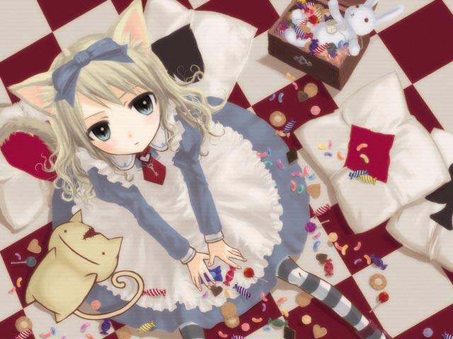 Арты на тему: 'Alice in Wonderland' 4d97b7fe22ca