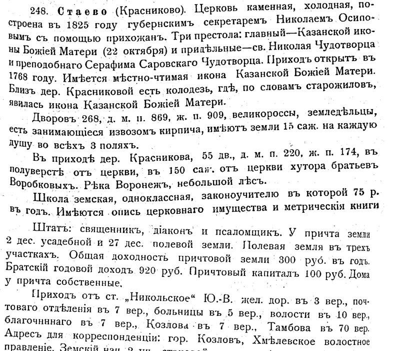 Козловский уезд Тамбовской губернии 28ba01b67664