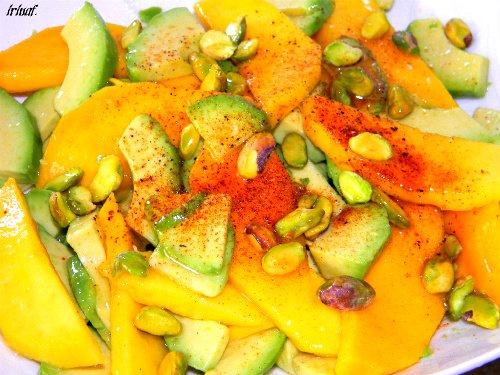 Манговый салат с авокадо 69263336f2ab