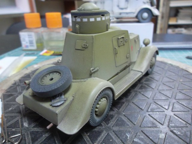 Бронеавтомобиль ФАИ-М, 1/35, (MSD 3562). 6bfbe0c374b9