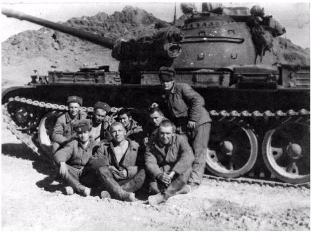 Т-55. ОКСВА. Афганистан 1980 год. 33b4814218e1
