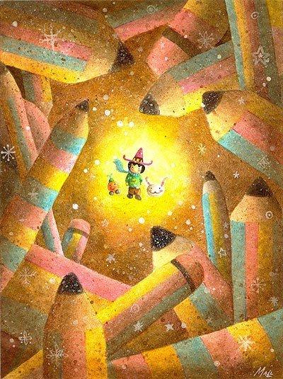 Рисунки детства от May Ann Licudine Eb57ed04ec42