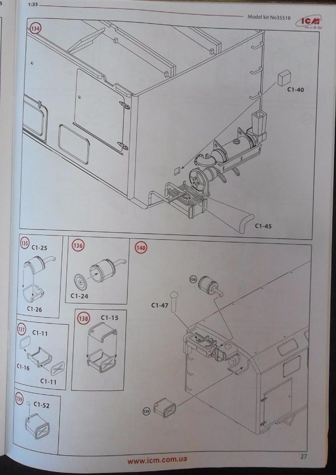 Обзор ЗиЛ-131 Аварийная служба / КУНГ, 1/35 (ICM 35518).  03443b48d7d8