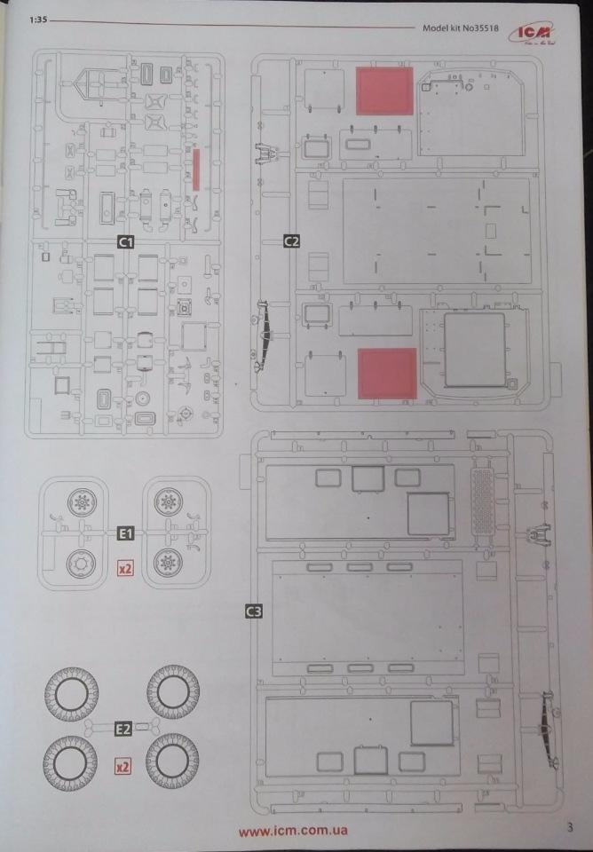 Обзор ЗиЛ-131 Аварийная служба / КУНГ, 1/35 (ICM 35518).  74f00ed0e567