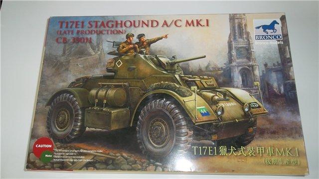 Staghound T17E1, 1/35, (Bronco 35011). 3686d98c1bdb