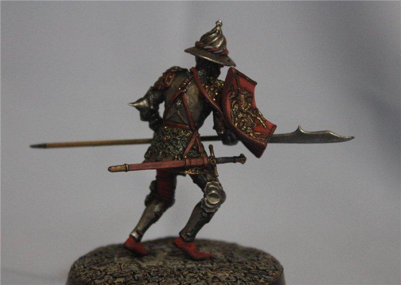 Бургундский рыцарь в миланском доспехе, 15 век.  Автор: Дмитрий Фурсов, г. Тамбов. 282c274010ca