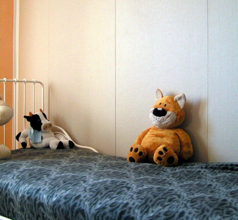 Простая отделка детской комнаты, с которой справится даже мама. 43fa7bf3de2e