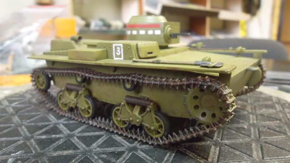 Т-38 малый плавающий танк, 1/35, (Восточный экспресс 35002 / MSD 3522 / AER Moldova). E3c342c3a07c