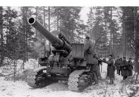 Советская 203-мм гаубица Б-4 1/35 (Alan №3522) A8b243e4bf6e