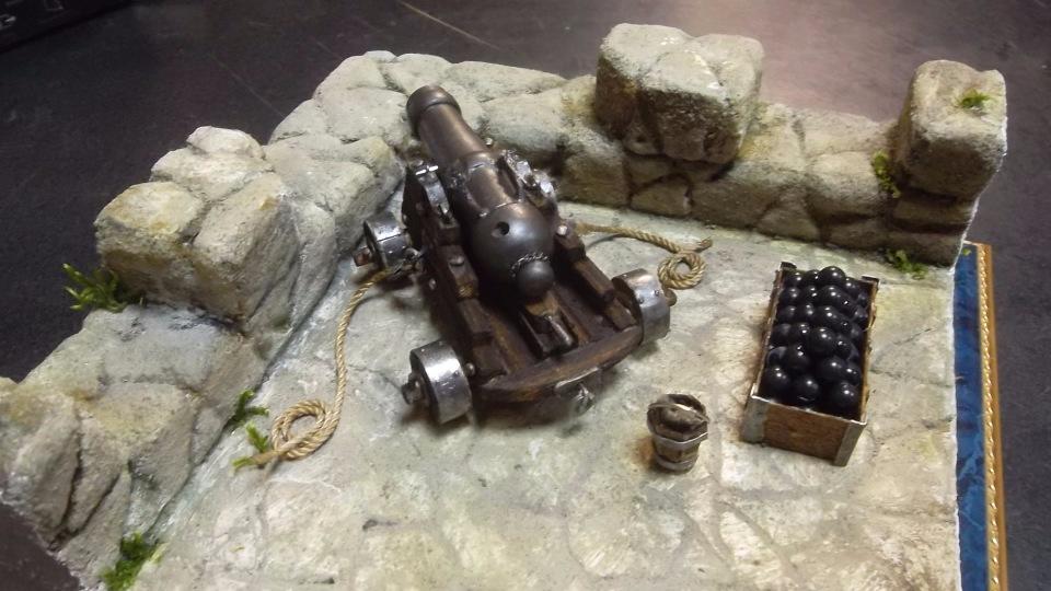 Крепостная пушка. Автор: Валерий Белов. B483a697c28d